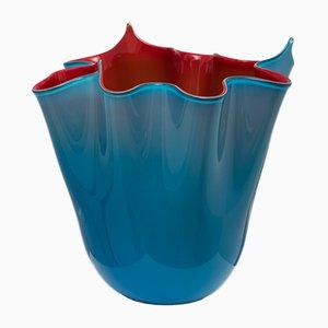 Fazzoletto Vase by Fulvio Bianconi for Venini, 1995