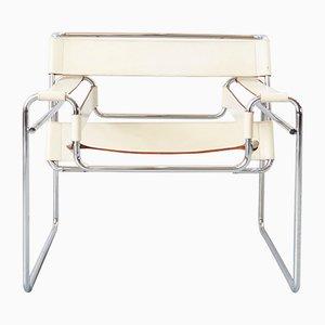 Vintage Bauhaus B3 Wassily Stuhl von Marcel Breuer für Gavina