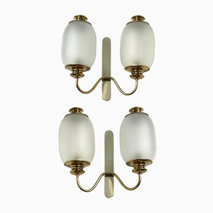 Wall Sconces by Luigi Caccia Dominioni for Azucena, 1950s, Set of 2
