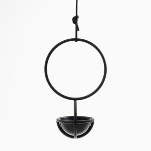 Blumenkugel Object, Hanging Planter by Zascho Petkow & Andreas Haussmann