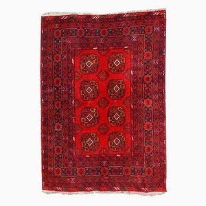 Vintage Handmade Afghan Ersari Rug, 1970s