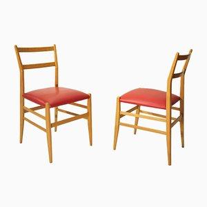 Chaises d'Appoint par Gio Ponti pour Cassina, 1950s, Set de 2