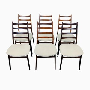Chaises Vintage en Palissandre de Casala, Set de 6