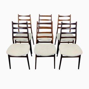 Vintage Palisander Stühle von Casala, 6er Set