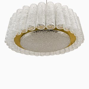German Ceiling Light from Doria Leuchten, 1960s