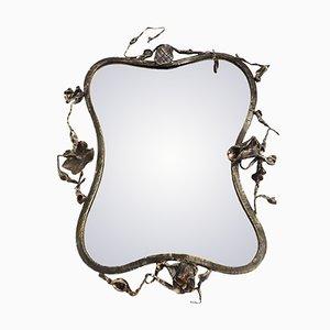 Italian Sculptural Mirror by Salvino Marsura, 1960s