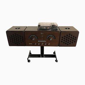 Vintage RR126 Giradischi Radio von Gebrüder Castiglioni für Brionvega