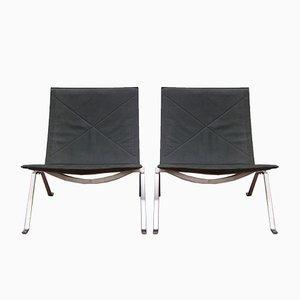 PK22 Stühle von Poul Kjaerholm für Fritz Hansen, 2014, 2er Set
