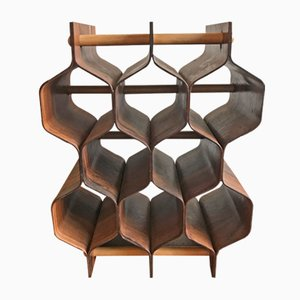 Rosewood Wine Rack by Torsten Johansson for Formträ, 1960s