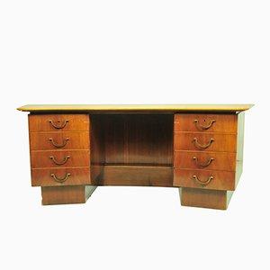 Geschwungener Vintage Schreibtisch