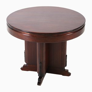 Art Deco Mahogany Coffee Table, 1920s