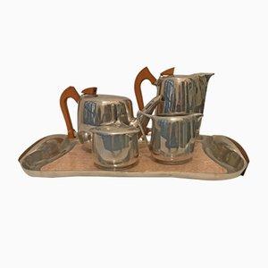 Servizio da tè o da caffè vintage di Picquot Ware