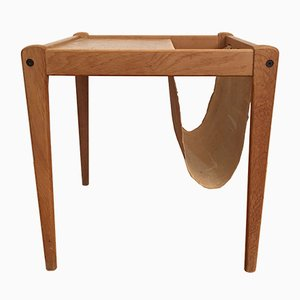 Danish Side Table & Magazine Rack from Furbo, 1960s