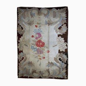 Tappeto antico fatto a mano, Stati Uniti, inizio XIX secolo