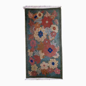 Antiker Chinesischer Art Deco Teppich, 1920er
