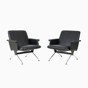 Mid-Century Modern Nr.1432 Sessel von Andre Cordemeijer für Gispen, 1960er, 2er Set