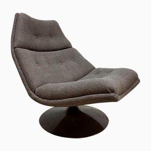 Vintage F511 Swivel Chair by Geoffrey Harcourt for Artifort