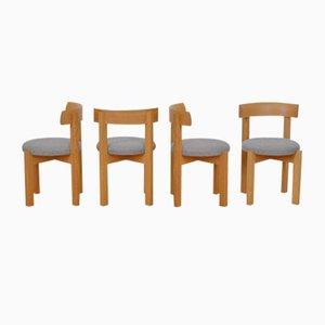 Chaises d'Anliker, Suisse, 1960s, Set de 4