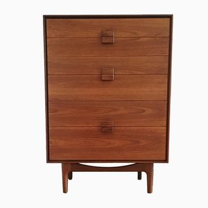 Mid-Century Danish Teak & Rosewood Chest of Drawers by Ib Kofod-Larsen for G-Plan, 1960s