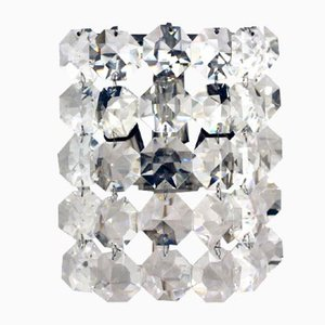 Vintage Crystal Wall Lamp from Bakalowits & Sohne