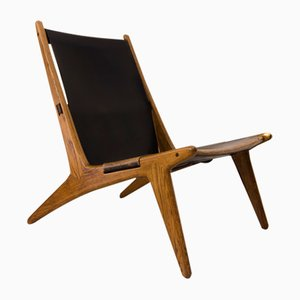 Vintage Hunting Chair by Uno & Östen Kristiansson for Vittsjö