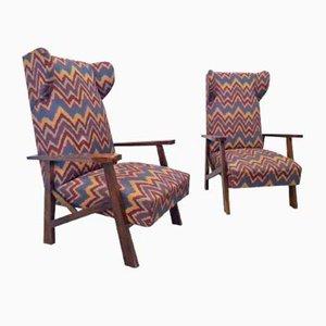Chaises Inclinables, 1960s, Set de 2