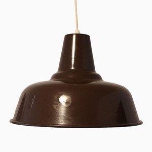 Minimalistische Deckenlampe, 1970er
