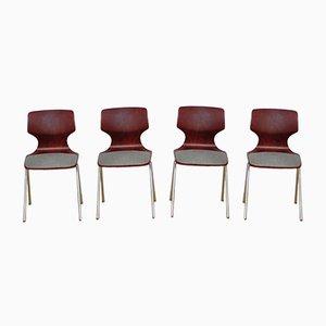 Chaises de Flötotto, 1960s, Set de 4