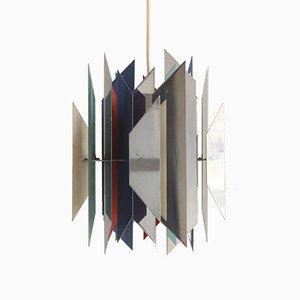 Lampada a sospensione Divan 2 vintage di Simon P. Henningsen per Lyfa