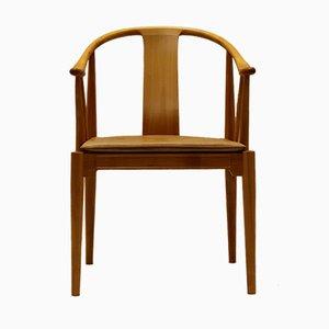 Chaise Vintage en Merisier par Hans J. Wegner pour Fritz Hansen