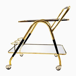 Italian Serving Cart by Cesare Lacca, 1950s