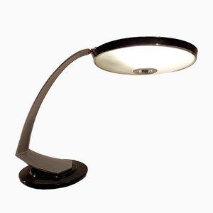Lámpara de escritorio Boomerang de Fase, años 70