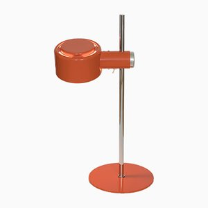 Lampada da tavolo Piccolo in metallo cromato arancione di Lyfa, anni '70