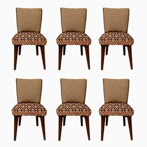 Chairs in the Style of Pier Luigi Colli, 1950s, Set of 6