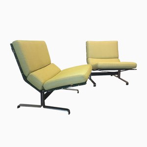 Lounge Chairs by Etienne Fermigier for Meuble et Fonction, 1960s, Set of 2