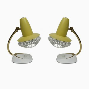 Small Italian Table Lamps, 1950s, Set of 2
