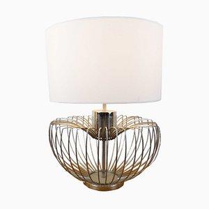 Verchromte Vintage Artischoke Lampe, 1970er