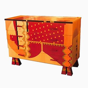 Chest of Drawers by Mendini & Calamobio for Zanotta, 1985