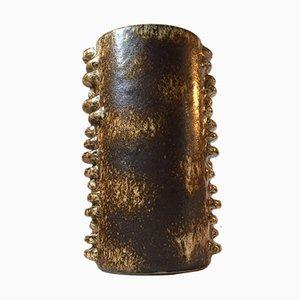 Vase de Style Bourgeonné en Céramique de Knabstrup, 1960s