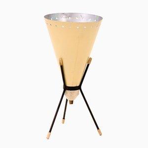 Lámpara de mesa Mid-Century de 3 patas