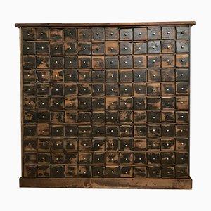 Cassettiera vintage in pino