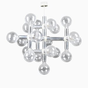 Lampadario Atomic di Robert Haussmann per Swiss Lamps International, anni '60