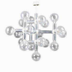 Lustre de Style Atomique par Robert Haussmann pour Swiss Lamps International, 1960s