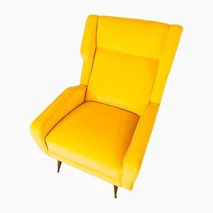 Poltrona gialla, anni '60