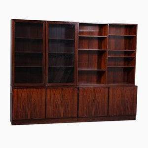 Mid-Century Danish Rosewood Wall Unit from Omann Jun