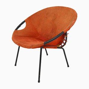 Runder Vintage Stuhl von Lusch & Co.