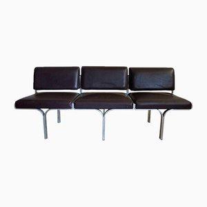 Sofá de 3 plazas de John Behringer, años 60