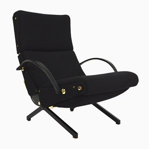 Vintage P40 Lounge Chair by Osvaldo Borsani for Tecno