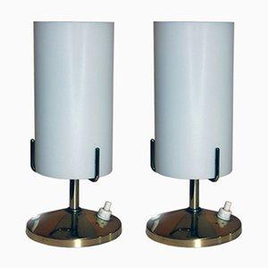 Lámparas de mesa vintage de Rupert Nikoll. Juego de 2