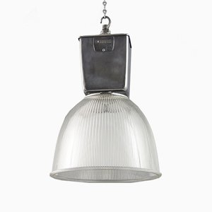 Vintage Industrial Pendant Light by Holophane